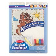 Melissa and Doug Magical Pets Masterpieces Art Paper Product, Multi Color
