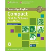 Compact First for Schools Workbook Without Answers with Audio/Barbara Thomas