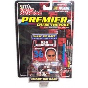 Racing Champions - NASCAR - Premier: Chase the Race - Ken Schrader - Snickers #36 - Chrome Chase Car