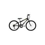Bicicleta Mormaii Aro 24 New Wave 21 Marchas Preta Fosco