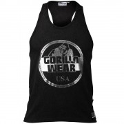Gorilla Wear Mill Valley Tank Top - Zwart - 3XL