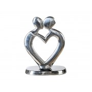 Decoratiune din metal in forma de inima cod HAL009