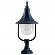 Elstead Lighting 1 piédestal extérieur léger lumière noir polycarbo...