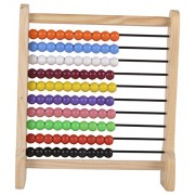 Skillofun Wooden Abacus Junior (10-10), Multi Color