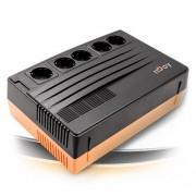 NJOY Shed 625, 625VA/375W, UPS, AVR, Line interactive, 5x220V, LAN/IEC75