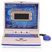 OH BABY Super-Slim Educational Talking Kids Laptop (Blue) FOR YOUR KIDS SE-ET-603
