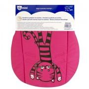 Husa pentru carucior pisicuta roz