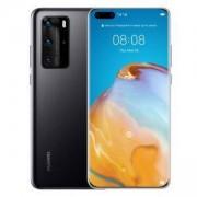 Смартфон Huawei P40 Pro, Black, ELS-NX9, 6.58 инча OLED (2640x1200), Kirin 990 5G, Octa-core, Li-Po 4200 mAh, Dual SIM, 6901443376940