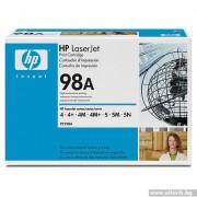 HP 98A Black LaserJet Toner Cartridge (92298A)