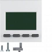 BERKER - 75860089 - S.1/B.x - info display, branco mate 25
