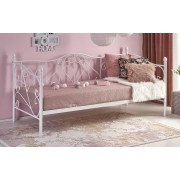 Home Style Eenpersoonsbed Sumatra 90x200cm in wit