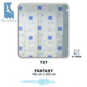 Zasłonka łazienkowa TXT 180x200 Fantasy