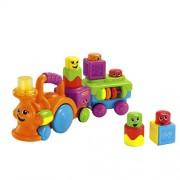 Fisher-Price Peek-a-Boo Stack n Surprise Blocks Choo-Choo