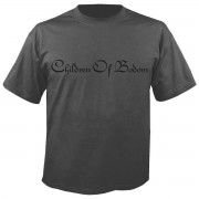 tricou stil metal bărbați Children of Bodom - Logo GREY - NUCLEAR BLAST - 2674_TS