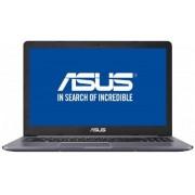 "Laptop ASUS VivoBook Pro 15 N580VD-FY678 (Procesor Intel® Core™ i7-7700HQ (6M Cache, 3.80 GHz), Kaby Lake, 15.6"" FHD, 8GB, 1TB HDD @5400RPM, nVidia GeForce GTX 1050 @4GB, FPR, Endless OS, Gri) + Bonus Intel Core i5 si i7 Software Pack ASUS"