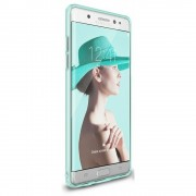 Husa Samsung Galaxy Note 7 Fan Edition Ringke Slim FROST MINT + Bonus folie Ringke Invisible Screen Defender