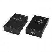 STARTECH.COM Startech - Comp. Cards and Adattatores 1port usb Extender kit - usb to Ethernet Extender - usb 2.0