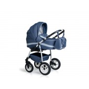 Carucior copii 3 in 1 MyKids Germany Blue Inchis