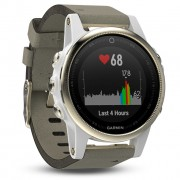 GPS мултиспорт часовник Garmin Fenix 5S Sapphire - 010-01685-13