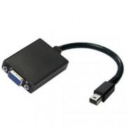Преходник PNY, от Mini DisplayPort(м) към VGA(ж), черен