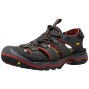 KEEN Men s Rialto h2-m Fashion Sneaker Raven/Bossa Nova 7 D(M) US