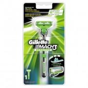 Gillette Mach 3 Sensitive Apparaat + 1 mesje