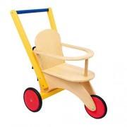 Small foot company Triciclo per Bambole «Buggy» Gioco Bambine in Legno Lavorato 34 x 50 x 48 cm