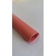 Karton Deco tamno crveni KARO B1(70X100cm) 250gr