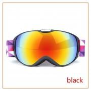Capas niños Gafas de esquí máscara doble anti-niebla Lentes