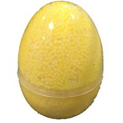 ERA INNOVATIVE GIFTING Fun Foam Putty - Huge Egg Ideal for Return Favors or Christmas Gift for kidsn Yellow Color