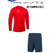 Completo Calcio Joma Kit Campus II M/L