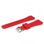 Curea ceas Samsung silicon, ET-YSU76MREGWW pt Gear S3, Red