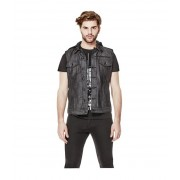 GUESS Belden Denim Vest dark wash