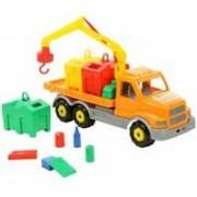 Veliki dečiji kamion sa kontejnerima za reciklažu Polesie 44280