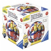 Puzzle 3d minions 54 piese