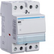 Csendes moduláris kontaktor 63A, 2 Záró érintkező, 230V AC 50 Hz (Hager ESC263S)
