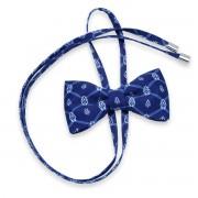Női íj nyakkendő val vel geometriai minta 10597