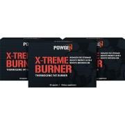 PowGen X-Treme Burner - 1+1 GRATIS - quemar la grasa y aumentar el rendimiento. 180 cápsulas para 90 días.