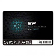 "SP Silicon Power Silicon Power 128GB SSD A55 SLC Cache Performance Boost SATA III 2.5"" 7mm (0.28"") Internal Solid State Drive- Free-download SSD Health Monitor Tool Included"