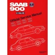 SAAB 900 8 Valve Official Service Manual: 1981-1988, Paperback