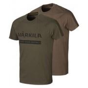 Härkila T-Shirts Logo 2er-Pack - Size: 46/48 48/50 52 54 56/58 60/62 64
