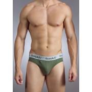 Baskit Action Cool All Mesh Bikini Brief Bronze Green Underwear M3100