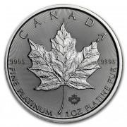 Maple Leaf platinová mince 1 Oz 2019