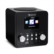 Auna IR-120, интернет радио, WiFi, DNLA, UPnP, App Control, черен цвят (KC14-IR-120 BK)