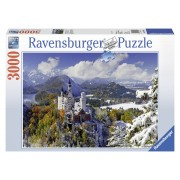 Ravensburger Puzzle Castelul Neuschwanstein iarna, 3000 piese