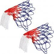 Мрежа за баскетбол - 3 цветна 2 бр.