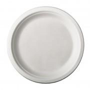 Pure - Disposable Tableware 72x Suikerrieten kleine wegwerp bordjes 26 cm van biologisch afbreekbaar materiaal