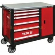 Yato Szerszámos kocsi 6+1 fiókos szélesített (YT-09002)