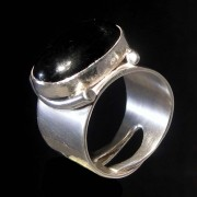 Metro Mod Man Polaris Ring Jewelry Black