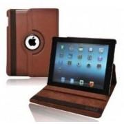 iPad Air 2 hoes 360 graden roteerbare hoes PU Leder Bruin